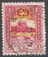 Ceylon. 1950 Definitives, 30c Used. SG 416 - Sri Lanka (Ceylon) (1948-...)