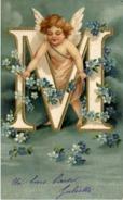 ANGELOT  Alphabet Lettre M - Anges