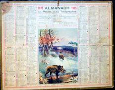 CALENDRIER ALMANACH DES POSTES PTT 1925 MARE AUX SANGLIERS   POSTES ET TELECOMMUNICATION - Big : 1921-40