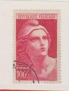 N 733 / 100 Francs Carmin / Oblitéré / Côte 7.65 €