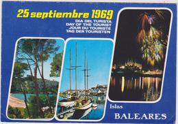ESPAGNE,SPAIN,ESPANA,ISLAS BALEARES,iles Baléares ,1969 - Espagne