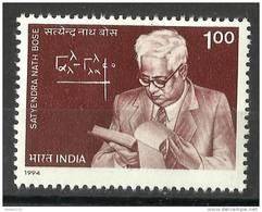 INDIA, 1994, Birth Centenary Of Satyendra Nath Bose, , Physicist, MNH, (**) - India