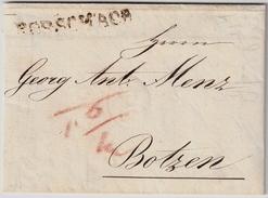 """1825, """" RORSCHACH """" , #7349 - Poststempel"""