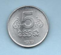 CAMBOYA - CAMBODIA  - 5 Cents 1979 KM69 - Camboya