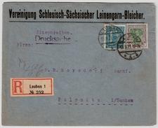1921, Portogerechte Reko-Drucksache! , #7350 - Deutschland