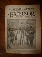 1915 EXCELSIOR :Chanson Le Pain KK; Sus Sur HEERENTAGE; Sary-Kamych;Histoire Du Chien Pervyse; MOULIN-ROUGE Incendié;etc - Magazines & Papers