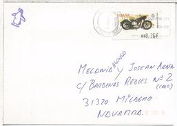 ESPAÑA CC ATM MOTO SANGLAS 1948 MAT BILBAO - Motorbikes
