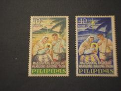 FILIPPINE - 1967 NATALE  2 VALORI - NUOVI(++) - Filippine