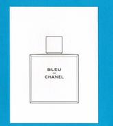 Cartes Parfumées Carte CHANEL BLEU De CHANEL - Cartes Parfumées