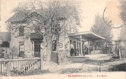 ¤¤  -  BLAMONT  - La Gare  -  ¤¤ - Blamont