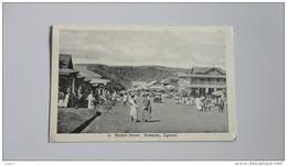 15O - Uganda à Voyagé De Kempala Vers Liège Market Street - Cartes Postales