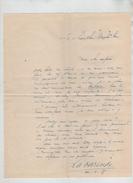 Lettre Autographe Jean De La Varende 1938 Chamblac Centaure Rare - Autographs
