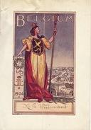 Menu En Deux Volet 12 Mai 1904 The Washington Hotel - Menus