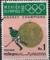 PAKISTAN 1969 Olympic Hockey Champions - 1r Olympic Gold Medal And Hockey Player FU - Pakistan