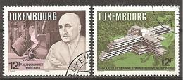 Luxemburg 1988 // Michel 1207/1208 O