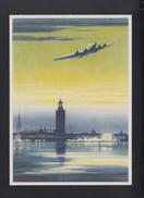 Dt. Reich PK Junkers Flugzeuge Ju 90 Vor Der Landung In Stockholm - 1919-1938