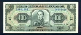 Ecuador - 100 Sucre 1992 FDS - Ecuador