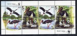 BELARUS 2005 Storks Sheetlet MNH / **.  Michel 597-600 Kb - Belarus