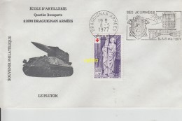 Enveloppe Draguignan 1977 - Storia Postale