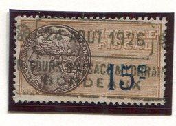 FRANCE- Timbre Fiscal Y&T N°7 De 1925- Oblitéré - Fiscaux