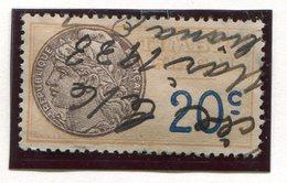 FRANCE- Timbre Fiscal Y&T N°8a) De 1925- Oblitéré - Fiscaux