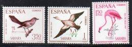 Spanish Sahara 179-81 Flamingo Duck + MNH From 1967