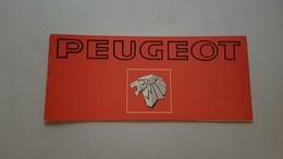 Peugeot 1977 Catalogo Produzione Depliant Originale Auto - Car Genuine Brochure - Prospekt - Auto