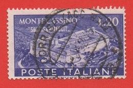 1951 (664) Montecassino Lire 20 - Leggi Il Messaggio Del Venditore - 6. 1946-.. República