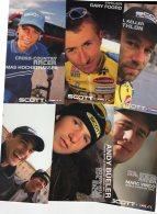 5481 7  Cartes    Cyclisme   Team Scott Usa 1998 - Cyclisme