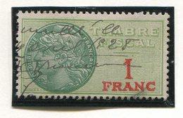 FRANCE- Timbre Fiscal Y&T N°22 De 1925- Oblitéré - Fiscaux