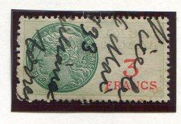 FRANCE- Timbre Fiscal Y&T N°30 De 1925- Oblitéré - Fiscales
