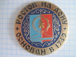 Russia USSR Rostov-on-Don Founded 1749 - Cities