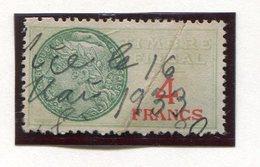 FRANCE- Timbre Fiscal Y&T N°31 De 1925- Oblitéré - Fiscales