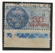 FRANCE- Timbre Fiscal Y&T N°43 De 1925- Oblitéré - Fiscales