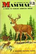 Mammals : A Guide To Familiar American Species Par Zim Et Hoffmeister - Books, Magazines, Comics