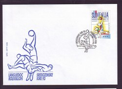SLOVENIA - SPORT - MEDITERAN GAMES - LANGUEDOS ROUSSILLON - FDC - 1993