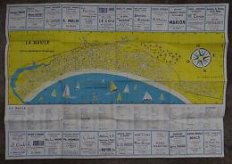Plan De La Baule 1960 - Station Balnéaire Et Climatique - 53 X 75 Cm - Autres Collections
