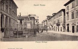 Ascoli Piceno  -  Piazza Arringo - Ascoli Piceno