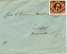 N4391 Altdeutschland Brief Bayern St. Fürth N. Landshut
