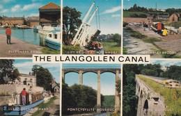 LLANGOLLEN CANAL MULTI VIEW - Denbighshire
