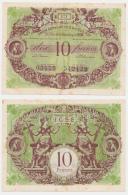 LYON // UNION COMMERCIALE Du SUD-EST // 10 Francs - Bons & Nécessité