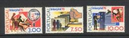 PORTUGAL 1976 Afinsa 1283/5 MNH P-70
