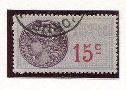 FRANCE- Timbre Fiscal Y&T N°59 De 1935- Oblitéré - Fiscales