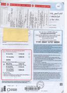 "Great Britain 2015, Kingswinford (West Midlands)  Complete Document, Receipt For Car Tax, Kingswinford ""E"" Cancel - 1952-.... (Elizabeth II)"
