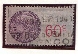 FRANCE- Timbre Fiscal Y&T N°113 De 1936-58- Oblitéré - Fiscaux