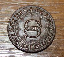 Rare Monnaie De Necessité Locale Ville De Monteriggioni - Pièce De 2 Grossi - Provincia Di Siena - Italia - Monetary/Of Necessity