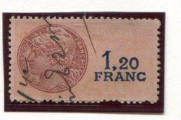 FRANCE- Timbre Fiscal Y&T N°121 De 1936-58- Oblitéré - Fiscaux