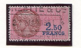FRANCE- Timbre Fiscal Y&T N°130 De 1936-58- Oblitéré - Fiscaux