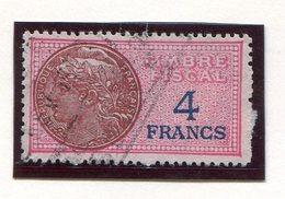 FRANCE- Timbre Fiscal Y&T N°136 De 1936-58- Oblitéré - Fiscales