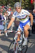 Photo De Tom Boonen Champion Du Monde Sur Route, Format 15x20 - Cyclisme